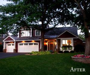 Award-winning Bloomington MN exterior remodel - after