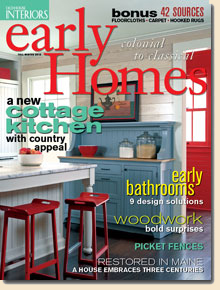 Early Homes Magazine Country Style Kitchen