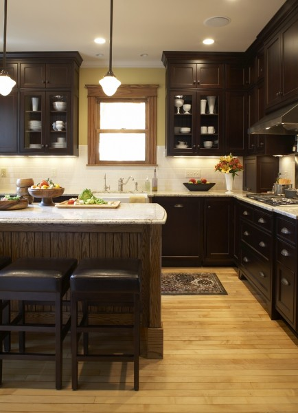 Traditional kitchen & bathroom remodel