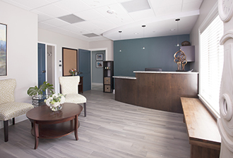 MN Birth Center St. Paul Reception Area