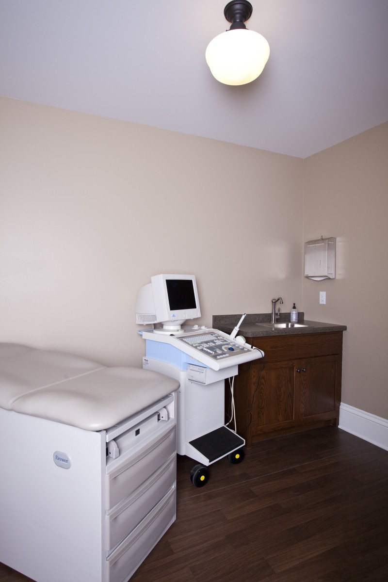 <p>The exam room; just down the hall from the suites.</p>