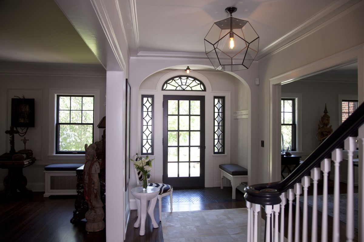 <p>This grand home on Lake Harriet was blessed with gracious rooms and details, but had tangled circulation, and lacked the spaces suited to a 21st century family. To solve this without a new addition, we relocated stairways, improving the flow and freeing up enough space to gain a mudroom, a generous kitchen, and room to move furniture into the attic. Creative strategies, including opening the floor beneath a dormer, increased the amount of daylight, and improved views without adding new window openings. The more modern floor plan is paired with details and materials consistent with the original home, gracefully blending the new with the old.</p>