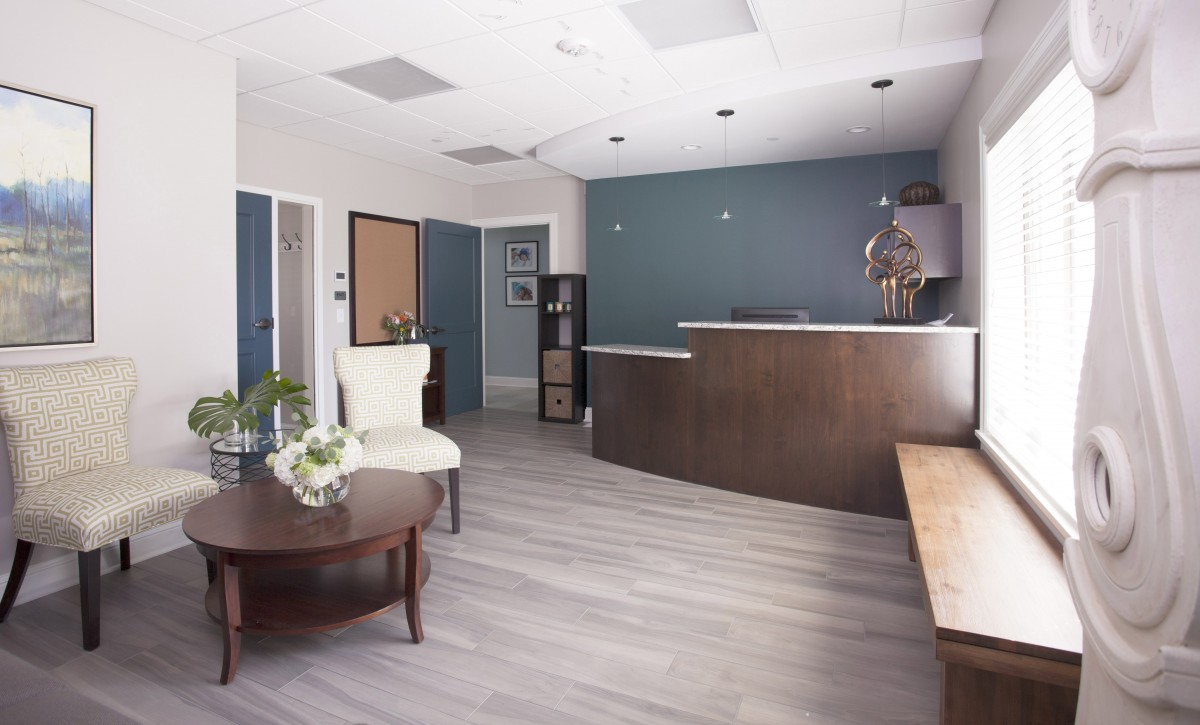 <p>It's hard to imagine that our clients' second birth center began life as an uninteresting office duplex. Freshly outfitted with birthing suites, exam rooms, waiting room, children's playroom and education room for parenting classes, The Minnesota Birth Center – St. Paul is a comfortable and home-like space for mothers and their families.</p>