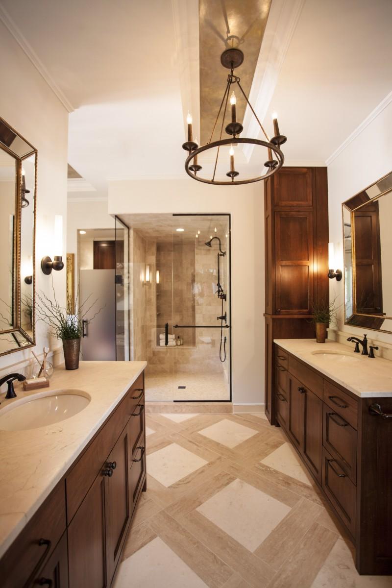 Long lake bathroom remodel trehus architects for Bathroom remodel zimmerman mn