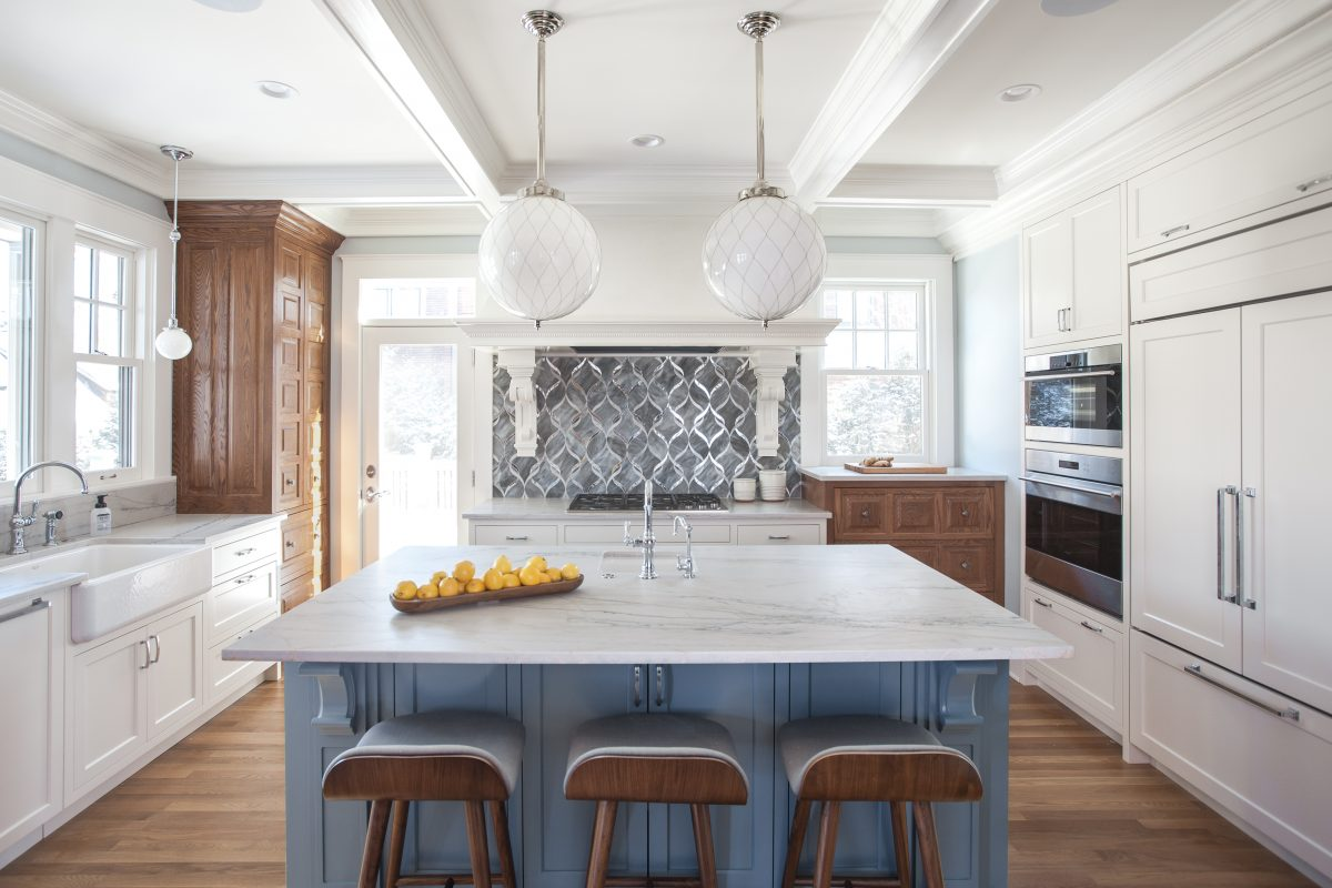 <p>Such an attractive house deserved an equally beautiful kitchen. The owners of this 1909's craftsman style home wanted a better functioning kitchen with more natural light and a larger opening to the dining room for their active family.</p>