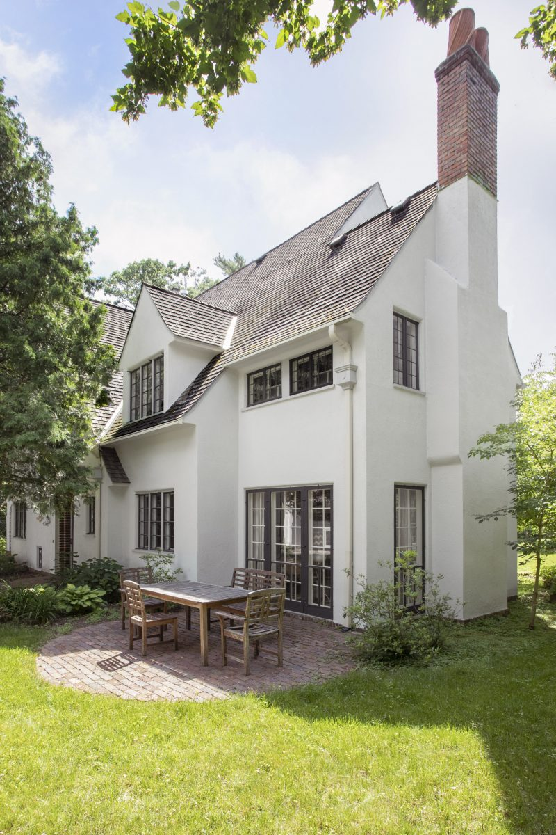 This beautiful 1923 English Cottage, with sweeping views of the St. Paul bluffs, was in desperate need of restoration. The new design optimizes the space and utility while preserving the character of the house.