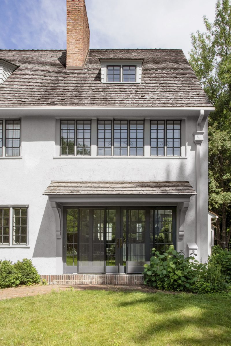 "<p>This beautiful 1923 English Cottage, with sweeping views of the St. Paul bluffs, was in desperate need of restoration. The new design optimizes the space and utility while preserving the character of the house.</p> <p><iframe src=""https://my.matterport.com/show/?m=7Zy8fBQLJFF"" width=""853"" height=""480"" frameborder=""0"" allowfullscreen=""allowfullscreen""></iframe></p>"